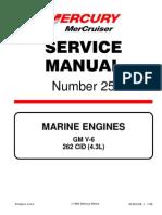 Mercruiser Service Manual 25