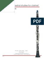 AVP71 Leblanc Bonade Orchestral Studies Clarinet