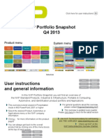NXP Portfolio Snapshot Q4 2013 Show Only