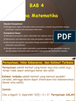 Bab 4 Logika Matematika