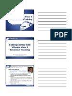 VMwar View Instructor Slides