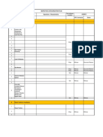 Inspection Categorization Plan