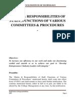 2011-08-10 Duties & Responsibilities of Staff