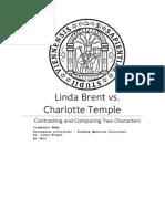 Linda Brent vs. Charlotte Temple - Stephanie Adam