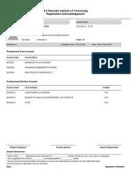 CourseRegistrationReport Gowrav