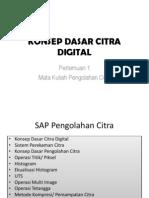 p1 Konsep Dasar Citra Digital