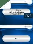 SBG Review Meeting