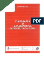 Elaborarea Si Managementul Proiectului Cultural