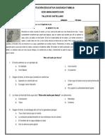 Taller de Castellano 5º (Fábula y Otros - 2do Periodo)