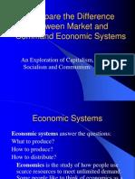 Economic System Soc Cap Mixed Economy