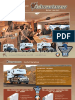 Adventurer Truck Camper Brochure 2012