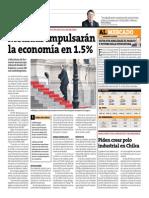 Medidas Impulsarán La Economía en 1.5%