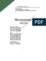 Capitolul 1 Introducere in Microeconomie