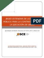 Bases Estándar de Lp Para La Contratación de La Ejecución de Obras
