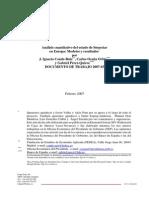 Análisis Cuantitativo Del Estado de Bienestar en Europa - Modelos y Resultados 13-02-1007