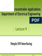 P9- Simple I-O Interfacing