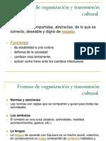 2.- Formas de Organización Cultural