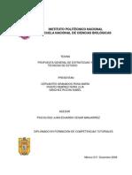 Propuesta General de Estrategias y Técnicas de Estudio