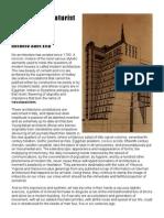 A Sant Elia Manifesto of Futurist Architecture