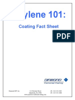 Parylene 101 Conformal Coating Fact Sheet