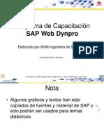 Capacitación SAP Web Dynpro
