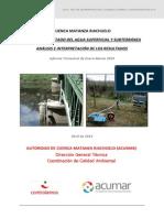 Cdca Acumar Info Agua Abril 2013