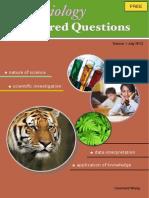 HKDSE Biology Exercise Vol1