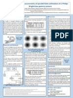 Poster - Performance Measurements of Parallel Hole Collimators of a Philips Brightview Gamma Camera