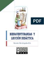 Bienaventuranzas y Lección Didáctica