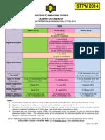 STPM 2014 Examination Calendar (4)