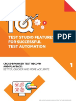 10 Test Automation Features Test Studio