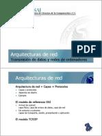 2 Arquitecturas de Red