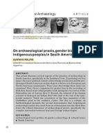 POLITIS, Gustavo - On Archaeological Praxis, Gender Bias and Indigenous Peoples in South America