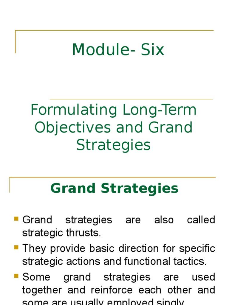 grand strategies in strategic management pdf