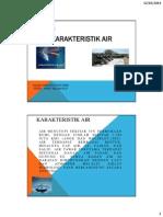 Karakteristik Air