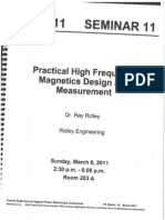 Practical High Frequency Magnetics Design and Measurement (1)