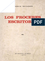 Joaquín Balaguer - Los Próceres Escritores