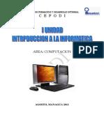 MODULO I Generalidades de Informatica