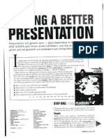 Making a Better Presentation_article