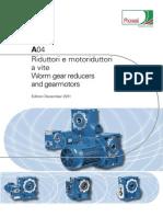 Motoreductor catalogue
