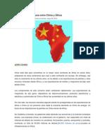 Se Expanden Los Lazos Entre China y África