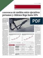 Diferencia de Sueldos Entre Ejecutivos Peruanos y Chilenos Es de 32%_Gestión 13-06-2014