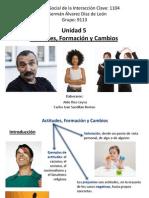 Unidad 5 - Actitudes, Formación y Cambios