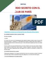 EL ACUERDO SECRETO CON EL CLUB DE PARÍS- (NOTAS).docx