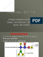 Capítulo 6 Proteínas y Enzimas 4º -2010