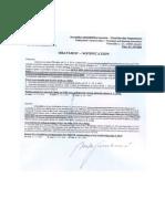 Obavijest HOK-u -- NOTIFICATION to the CBA - 2. VI. 2014.