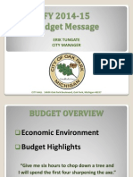Oak Park budget highlights