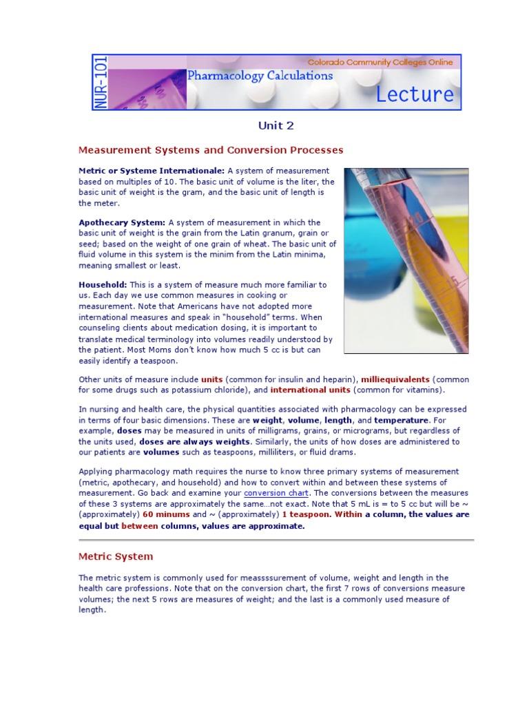 Med calc measurement systems litre grain unit nvjuhfo Choice Image
