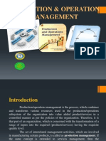 1 Introduction to production and operations management