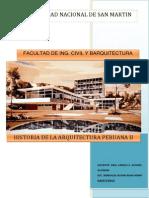 Tipología de Vivienda en Lima Peru Década de Los 50